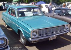 1966 Dodge Dart- My mama g Drove one of these..... said it had a push button transmission in it.