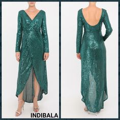 Dress up or down in style with Indibala. This dress features a V-neckline, full sleeves, relaxed, maxi silhouette, high-low hem with gathered detailing at waist. Full Sleeves, Fashion Addict, Outfit Of The Day, High Low, Cold Shoulder Dress, Dress Up, Neckline, Ootd, Silhouette
