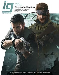 Metal Gear Solid Splinter Cell I'm really into this. Big Boss Metal Gear, Metal Gear Solid, Metroid, Game Character, Character Design, Tom Clancy's Splinter Cell, Les Aliens, Video Game Magazines, Cl Shoes