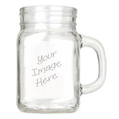 Had one of my first #MasonJar sales!  Love that #Zazzle offers these now... skip the paper labels, print directly! https://www.zazzle.com/z/y25qm&tc=MPSales