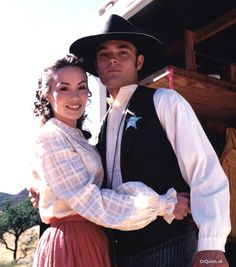 Matthew Cooper and Emma from Dr. Quinn Medicine Woman