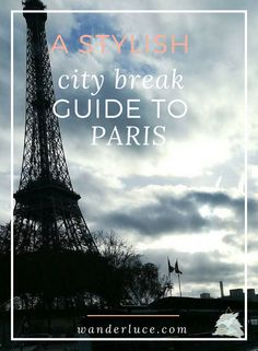 Heading to Paris and in need of a travel guide? Look no further as I have the most STYLISH guide to travelling the beautiful city yet.