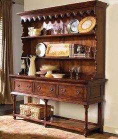Jonathan Charles Fine Furniture.  Welsh Dresser Desire.