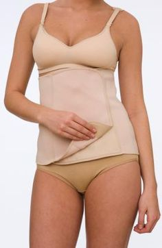 Wrap around style with adjustable velcro closure. Postpartum Belly Band by La Leche League Intimates. Available in color - Nude Postpartum Belly Band, Postpartum Care, Belly Bandit, Lose 50 Pounds, 20 Pounds, Normal Body, Improve Posture, Thing 1, After Baby