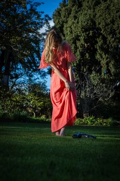 Hope Louise by Peter Berzanskis Wuthering Heights, Grass, Editorial, Gown, Photoshoot, Hands, Orange, Vintage, Fashion