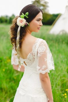 Soft, Floaty, Boho and Vintage Inspired Bespoke design by Dana Bolton (http://www.dressmakingdesign.co.uk/).  http://kirstenmavric.co.uk/