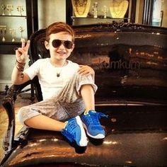 世界一オシャレな5歳「アロンソ君」がカッコよすぎると話題♡ - NAVER まとめ