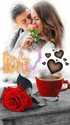 99846923 Cup of love Beautiful Love Images, Good Morning Beautiful Pictures, Good Morning Love Messages, I Love You Images, Love You Gif, Dont Love Me, Good Morning My Love, Good Morning Photos, Love Kiss