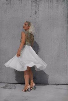 Couture Ateliers der BFS Basel, Transitlager Dreispitz in Münchenstein. Couture, Basel, High Low, Ballet Skirt, Skirts, Dresses, Fashion, Atelier, Kleding
