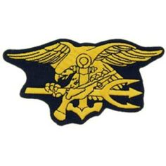 19fae35c4e5 U.S. Navy SEAL Trident Patch 4 3 4