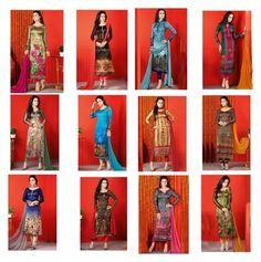 """Digital Printed Pakistani Dresses By Designersandyou"" by designersandyou ❤ liked on Polyvore"