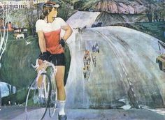 Изобразительное искусство СССР. Вело-мото... 1 - «Впечатления дороже знаний...»Трофимов Федор Егорович (1938-2009) «Юность» 1977