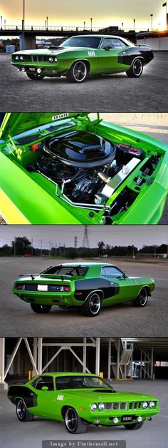 Plymouth barracuda - possibly my favourite muscle car
