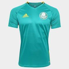 Camisa Adidas Palmeiras Treino 2016 - Mundo Palmeiras 2c9ccc5dd2ac1