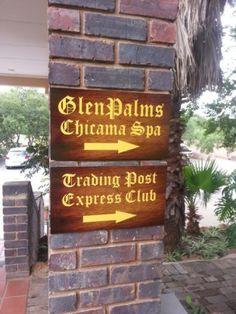 New signage for GlenPalms at Glenburn Lodge