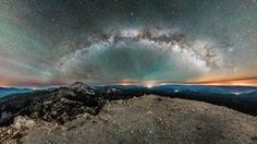 Milky Way over Lassen Volcanic National Park