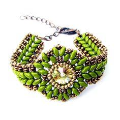 Tutorial: Timeless Beauty Bracelet by Extrano   JewelryLessons.com