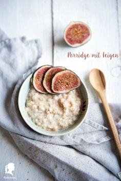Haferbrei - Porridge - Oatmeal - ein Grundrezept für ein leckeres gesundes Frühstück   relleomein.de
