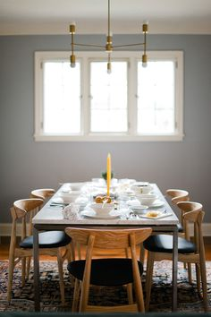Dot & Bo's Galileo Dining Chairs on Wit & Delight's Dining Room Reveal: http://dotbo.co/1xcwSD3!