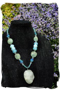 Self Love Amulet Statement Necklace Large by TimelessTalismans, $125.00