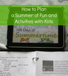 How to Plan a Summer of Fun and Activities with Kids
