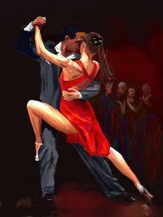 Bailar-tango-con-seguridad Dance Photography Poses, Dance Poses, Shall We Dance, Just Dance, Tango Art, Tango Dancers, Dance Paintings, Argentine Tango, Art Deco Posters