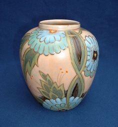 Art Nouveau Passion - Ceramics - Crown Devon Vase