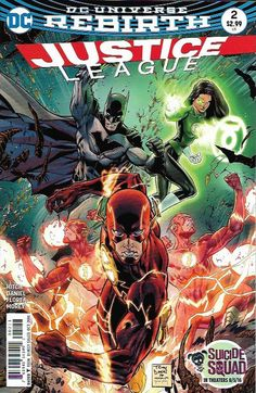 Justice League (2016) #2 (Primary)