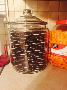 I Made My Khloe Kardashian Cookie Jar Today! 2 Gallon Glass Jar. 4 1