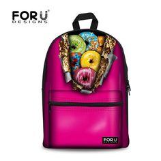 Women s Girls  Canvas Shoulder Bag Backpack Travel Satchel School Rucksack  New  FORUDESIGNS  Backpack. Kids ... 00ee95e212b8a