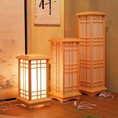 Dewel フロアスタンド シェード   和風 丈夫な障子紙 木製  和室用  落ち着いた感じ  (S)