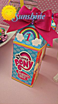 My Little Pony Birthday Party favors!  See more party planning ideas at CatchMyParty.com!