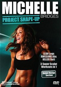 Bridges,  Michelle - Michelle Bridges - Project Shape-up! A unique twist on the well known genre of Abs, Butts and Thighs however, this work...  JB Hi Fi