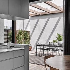 Heim, Interior Exterior, Kitchen Interior, Interior Architecture, Kitchen Design, Interior Design, Architects Melbourne, Internal Courtyard, Melbourne Australia