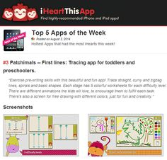 We are #3 in the Top 5 Apps of the Week in IHeartThisApp: http://iheartthisapp.com/top-5-apps-of-the-week/ Thanks a lot for your support! // Somos #3 en el Top5 de apps de la semana en iHeartThisApp: http://iheartthisapp.com/top-5-apps-of-the-week/. ¡Gracias por vuestro apoyo!
