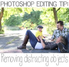 A Sorta Fairytale: PS Editing Quick Tip: Removing distracting objects.