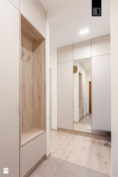 In the AV room, this can be a closed version in the thin space. Apartment Interior, Home Interior, Interior Architecture, Interior Design, Built In Furniture, Home Furniture, Corridor Design, Wardrobe Cabinets, Entrance Hall
