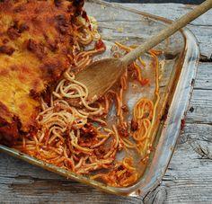 Million Dollar Spaghetti Casserole.....my way! So delicious!