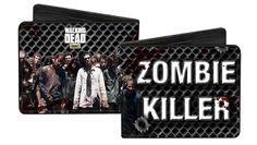 Buckle Down Men's Bi-Fold Wallet The Walking Dead Zombie Killer * Learn more by visiting the image link. (This is an Amazon Affiliate link and I receive a commission for the sales)