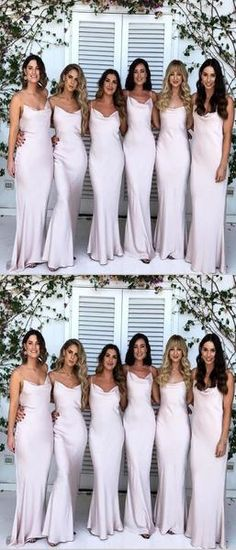 Wedding Party Dress Confident Sexy Spaghetti Straps V-neck Chiffon Wedding Bridesmaid Dress Charming Pleat Side Slit Backless Long Dress For Wedding Party Weddings & Events