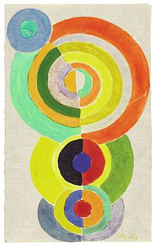 Rhythm I Robert Delaunay - circa 1934 Private collection Painting Height: 19 cm in.), Width: 12 cm in.) The Athenaeum - Rhythm I (Robert Delaunay - ) Sonia Delaunay, Robert Delaunay, Abstract Expressionism, Abstract Art, Rhythm Art, Painting Prints, Canvas Prints, Merian, Gouache