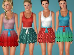 Dress 005 by Shake Productions  - Sims 3 Downloads CC Caboodle