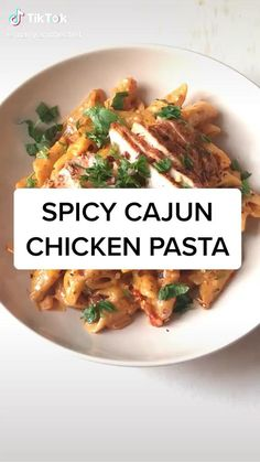Pasta Recipes, Chicken Recipes, Cooking Recipes, Healthy Recipes, Simple Recipes, Vegetarian Recipes, Pasta Dishes, Food Dishes, Food Cravings