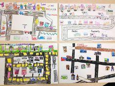 Students build a community map!