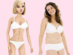 Las medidas de Barbie son imposibles para la vida real.http://www.farmaciafrancesa.com/main.asp?Familia=189