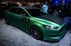 If you really like Monster energy drinks and highly stylized Ford sedans, I've got just the vehicle for you.