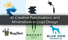40 Creative Punctuations and Minimalism in Logo Design djdesignerlab.com