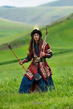 """world-ethnic-beauty: """"Hungarian female warrior """" - Krieger Folk Costume, Costumes, Costume Ethnique, People Around The World, Archery, World Cultures, Traditional Dresses, Costume Design, Historical Costume"""