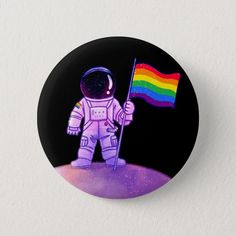 Shop Pride Astronaut [Gay] Button created by sumenya. Personalize it with photos & text or purchase as is! Cd Wall Art, Cd Art, Vinyl Record Art, Vinyl Art, Posca Art, Diy Canvas Art, Creations, Decoration, Astronauts