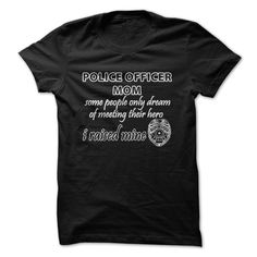 nice Police Officer Mom  Check more at http://doomtshirts.xyz/hot-tshirts/police-officer-mom-order-now